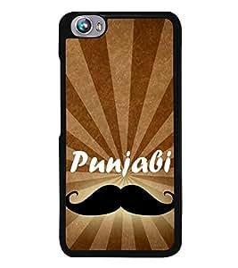 Punjabi 2D Hard Polycarbonate Designer Back Case Cover for Micromax Canvas Fire 4 A107