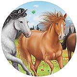 Tortenaufleger Tortenfoto Aufleger Foto Bild Horses Dream Pferd rund ca.