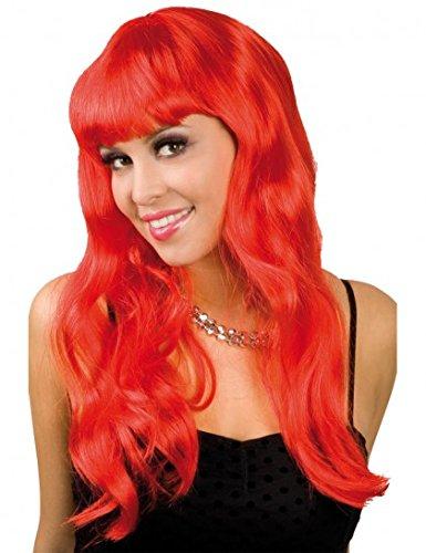rote Haare Neu mit Ponny [Spielzeug] (Farbige Perücken)