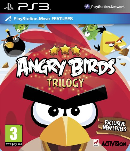 [UK-Import]Angry Birds Trilogy (Move Compatible) Game PS3 (Rio Spiel Ps3)