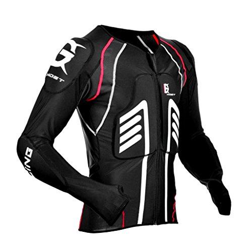 Sharplace-2x-Giubbotto-Motociclista-Estivo-Protezione-Corpo-Paraschiena-Accessorio-Equitazione