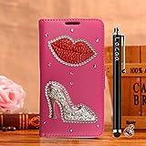 Locaa(TM) For Nokia Lumia 1020 Nokia1020 Lumia1020 3D Bling Case Funda 3 IN 1 Accesorios Funda Bumper Shell Caso Alta Calidad Piel Cuero Para Protector Dura Cover Cas [1] Rosa - Flaming Lips