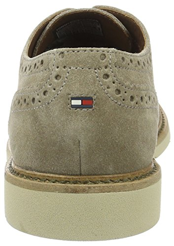 Tommy Hilfiger M2285etro 2b, Chaussures à Lacets Homme Beige (Taupe 255)