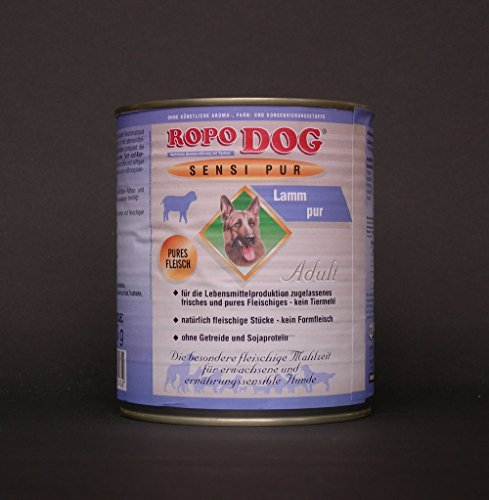 30lattine da 800Gr. ropodog Adult sensi Pur Agnello-Pures carne