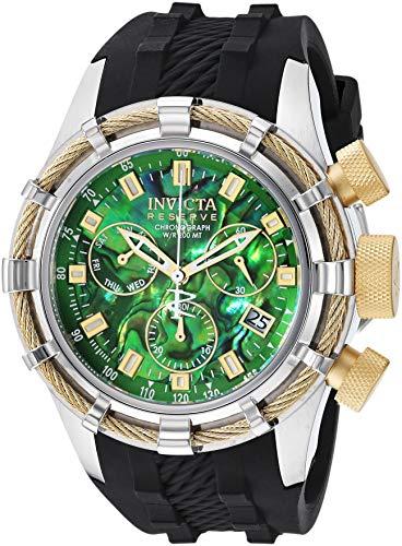 Invicta Reserve Herren-Armbanduhr Armband Silikon Schweizer Quarz Analog 26193
