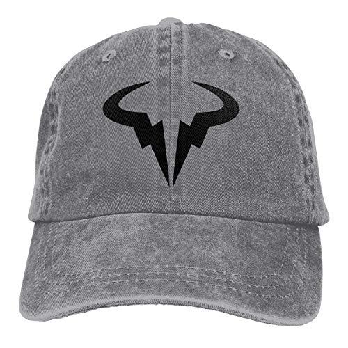 e3cae3be Sombrero del Camionero de Las Gorras de béisbol Rafael-Nadal-Logo-Tennis  Hat Cap Men Women Plain Hat Snapback Hat