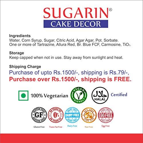 Sugarin Icing Color Gel for Fondant, Blue, 25 gram