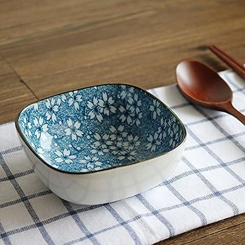Yifom coppa in ceramica di creative Soup Bowl Fruit Salad Bowl,Ting Sakura