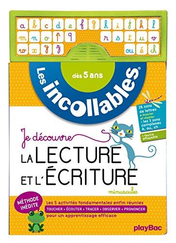 Incollables - Je découvre la lecture et l'écriture MINUSCULES - Dès 5 ans
