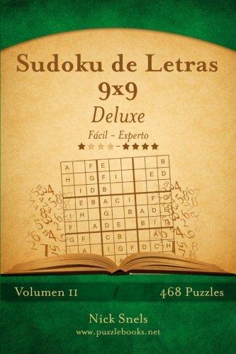 Sudoku de Letras 9x9 Deluxe - De Fácil a Experto - Volumen 11-468 Puzzles: Volume 11 por Nick Snels
