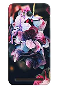 Blue Throat Rose Effect Printed Designer Back Cover/ Case For Asus Zenfone Max