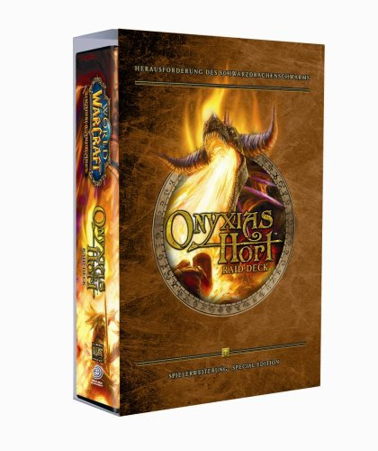 Upper Deck 20586 - World of Warcraft, Onyxia's Hort Raid Deck (Trading Card World Of Warcraft)