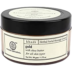 Khadi Face Gold Massage Cream 50Gms.