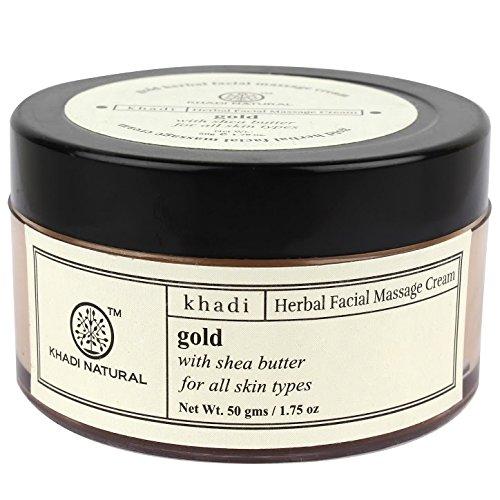 Khadi Face Gold Massage Cream 50Gms.
