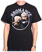 The Muppets T Shirt - Statler and Waldorf 'Bromance' 100% Official US Import