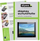 dipos I 2X Schutzfolie matt passend für Xoro DPF 15B1 Folie Displayschutzfolie