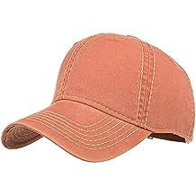 Gorras de Hombre Mujer Beisbol, MINXINWY Moda Gorra de Beisbol Bordada Color sólido