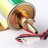 Elektronischer Kraftstoffpumpe 12v DC universal Benzin Diesel Öl Öl Pflanzen Öl Pumpe HEP-02A Golden