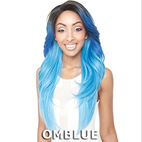 ISIS Red Carpet Premium Synthetic Hair Lace Front Wig - RCP720 MERMAID 2 (1 - Jet Black) by Isis (Red Carpet Perücke)