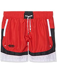 ES collection Hugo Round Sides Long, Boxer Homme