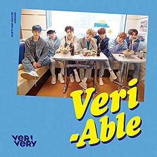 Jellyfish Entertainent VERIVERY - VERI-ABLE [OFFICIAL ver.] (2nd Mini Album) CD+2 Clear Photocard+Postcard+Photocard+1 Postcards Set