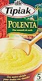 Tipiak Polenta Fine Semoule de Maïs 2 Sachets de 250 g