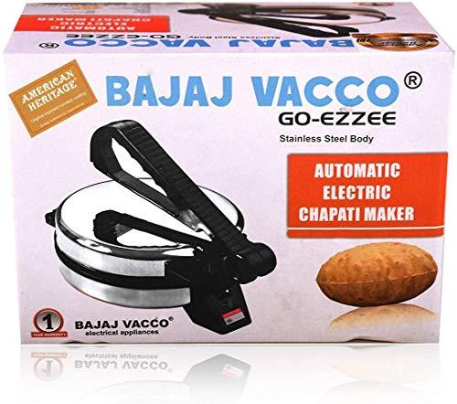 "BAJAJ VACCO®""Go-Ezzee"" Chapati/Roti/Khakhra Maker C-02 Wattage 900"