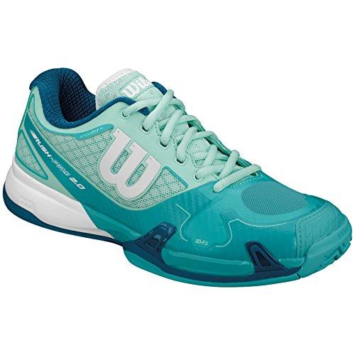2 Bianco Pro Tennis Wh Da Blu Wilson 0 Rush W Donna Scarpe 6PE1Ew
