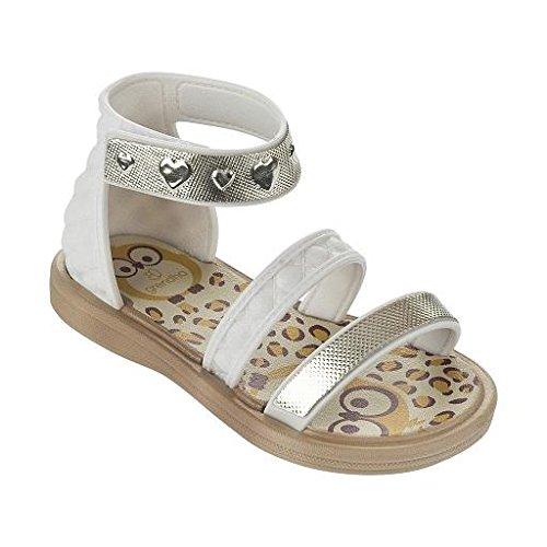 Raider Unisex Grenda Pink Baby Schuhe für Neugeborene Blanco (Blanco)