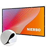 84 Inch Projector Screen 16:9 New Updated No Winkle (Installation Tools Included) HD