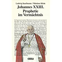 Suchergebnis auf amazon fr johannes xxiii bcher johannes xxiii prophetie im vermchtnis fandeluxe Choice Image