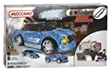Meccano MBE-MCC027 RC Light and Sound Orange Car