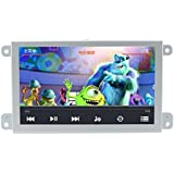 likecar 7 pulgadas coche navegación GPS para Audi A6/S6/Q7 (2004 – 2009) with Original AUX con reproductor de DVD Radio FM AM Bluetooth Phone portatil BT Music MP3 MP4 AUDIO vídeo estéreo USB SD apoyo Carmedien DVR DTV