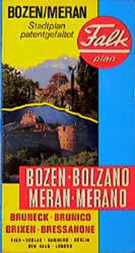 Bozen /Meran (Falk Stadtplan Extra Standardfaltung - Deutschland)