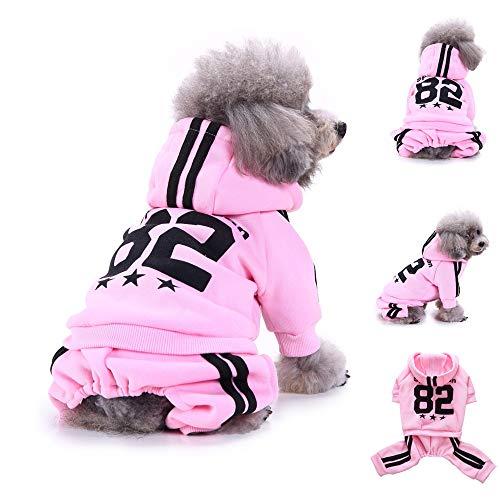 YCGG Hunde Sweatshirt Pullover Mode Hunde Kleidung FüR -