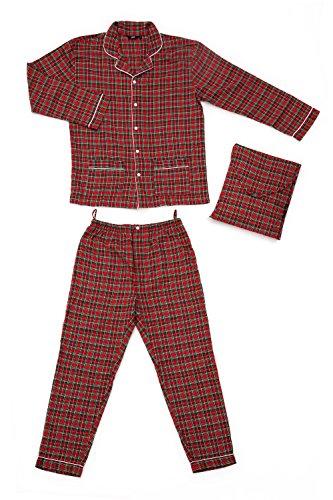grino-charly-man-pigiama-scozzese-rosso-flanella-s