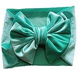 Angoter Baby Cotton Stirnband-Haar-Verpackung Mit Bowtie Kind-Haar-Zusätzen Für Kleinkind