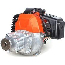 wingsmoto 43cc 2tiempos motor Gas patinete motor con engranaje 20t T8F piñón DIY Motor