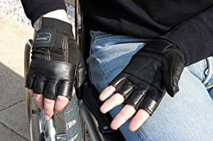 Wet Weatherproof Wheelchair Gloves (Choose Your Size)