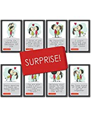 exciting Lives Love Story Romantic Love Cards - Birthday, Anniversary Gift