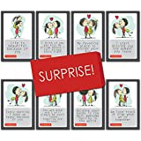 #1: exciting Lives Love Story Romantic Love Cards - Birthday, Anniversary Gift