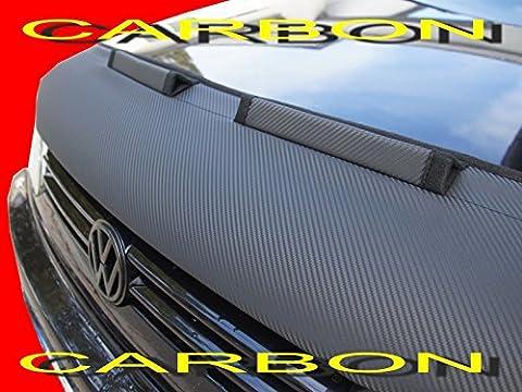 AB-00883 CARBON OPTIK BRA für Mustang Bj. 2005-2010 Haubenbra Steinschlagschutz Tuning Bonnet Bra
