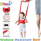 Liltoes Baby Safety Harness Walking Assistant Belt, Red