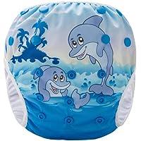 Pannolino Piscina Costume Contenitivo Neonato Bambino Riutilizzabile Pannolino da Nuoto Mare E Piscina Baby Slip Cover…