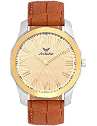 Armbandsur silver & golden elegant watch-ABS0072BGT