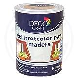 Deco Craft Wetterschutz Holzgel Farbe Kiefer 5 Liter