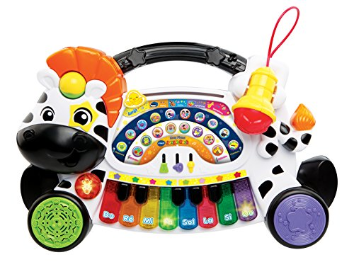 VTech- Jungle Rock Piano ZãšBre Kid, 80-179105