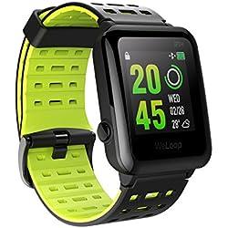 OMORC Reloj de Deportivo con Pulsómetro y GPS, 5ATM Impermeable WeLoop