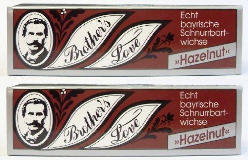 2er Set: Brothers Bartwichse hazelnut