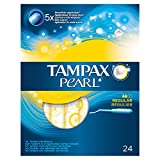 Tampax Pearl Regular Tampons with Applicator - Pack of 24